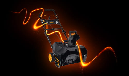 Snow Thrower with Energy Band