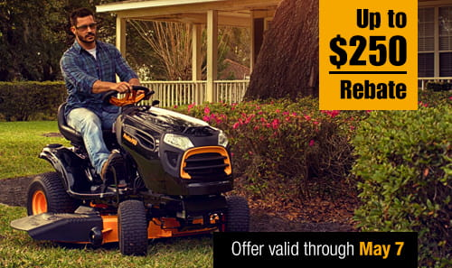 Mower Rebate
